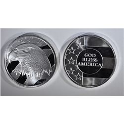 GOD BLESS AMERICA- PLEDGE OF ALLEGIANCE 1oz SILVER