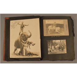 Julia Allen 101 Ranch Wild West Show Photo Album