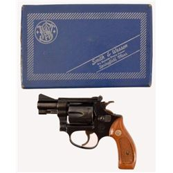 Smith & Wesson Model 34-1 .22 Revolver In Box