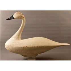 Antique Hand Carved Tundra Swan Decoy