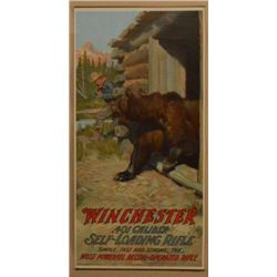 1909 Winchester .401 Self Loading Rifle Poster