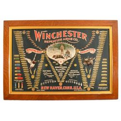 Winchester Arms Co. Advertising Bullet Board