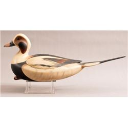 William Gibian Carved Old Squaw Duck Decoy