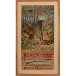 1909 Winchester Arms Co. Repeating Shotguns Poster