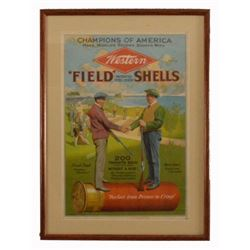 Western Ammunition Co. Trap Shooting Poster