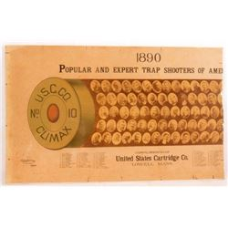 1890 US Cartridge Co. Trap Shooters Poster