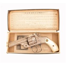 Factory Engraved Smith & Wesson .38 Mint in Box