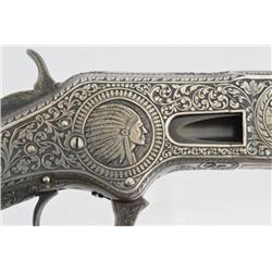 Engraved Winchester 1866 Indian & Buffalo