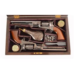 Aid De Camp Set of Colt Model 1851 Pistols