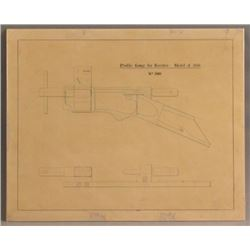 Winchester Model 1866 Original Factory Drawing