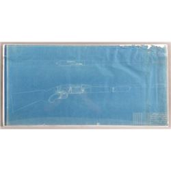 3 Winchester Model 88 Factory Blue Prints Drawings