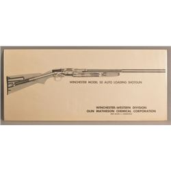 Winchester Model 50 & Model 70 Factory Posters