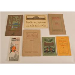 Ammunition Advertising Trap Shooting Guide Books