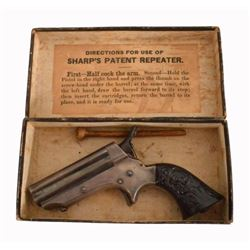 Sharps Repeater Derringer in Factory Box