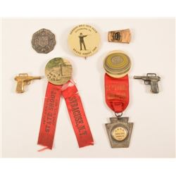 1905 Trap Shooting Buttons & Pins