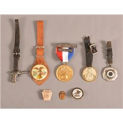 Trap Shooting Watch Fobs & Pins
