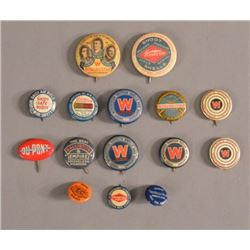 Winchester & Ammo Advertising Pinback Buttons