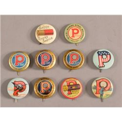 Peters Cartridge Co. Advertising Pinback Buttons