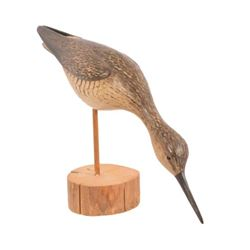William Gibian Carved Shorebird Decoy