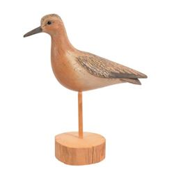 William Gibian Carved Wood Shorebird