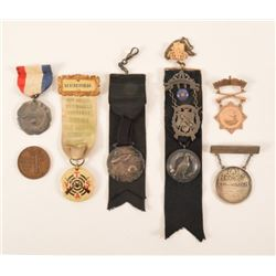 Collection Of Trap Shooting Medals & Pins