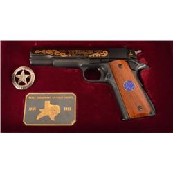 Texas Ranger's DPS 50th Anniversary Colt 1911