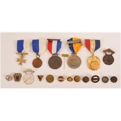 Collection Of Marksman Trap Shooting Medals & Pins