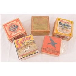 Collection Of  Shotgun Shell Boxes Two-Piece