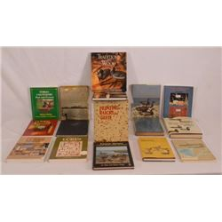 Collection Of 16 Decoy & Fishing Books