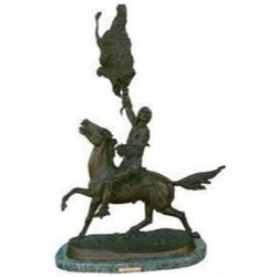 Buffalo Signal By Frederic Remington