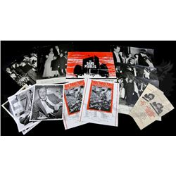 † Mudlark (1950) Group of five large thick card black and white images of the 1950 Royal Film Perfor