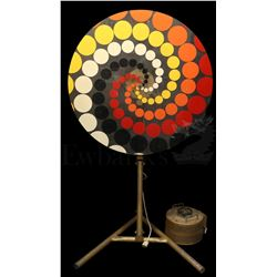† Our Man Flint (1966) Pleasure Unit Hypno Mind Control Wheel with power unit. A full scale professi