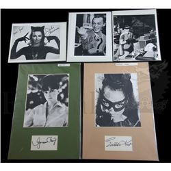 † Batman (1966) A group of autographs of various stars from the television series. Comprising of Bur