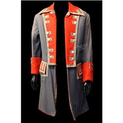 † Kidnapped (1960) The signature hero Naval frock coat worn by Peter Finch in his leading role as 'A