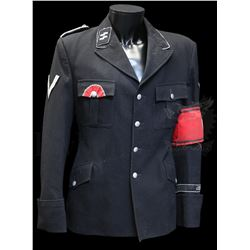 † Where Eagles Dare (1968) A Nazi SS military tunic. The tunic retains the majority of it's insignia