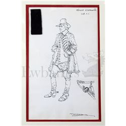 † Cromwell (1970) Richard Harris as 'Cromwell' costume design. Full length costume design together w