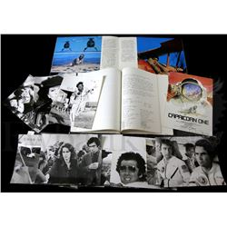 † Capricorn One (1978) Advance Campaign Set for the 1978 movie starring Elliot Gould and James Broli