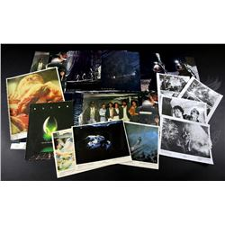 † Alien (1979) Two different styles of lobby card large sets with eight different cards per set, a s