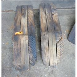 Wooden Vehicle Ramps (approx. 3' long)