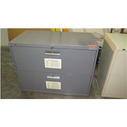 2-Drawer Lateral File Cabinet w/ Keys