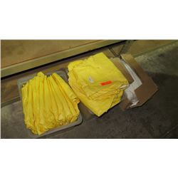 Approx. 15 Yellow Tyvek Coveralls
