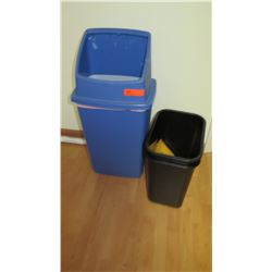 Qty 3 Office Trash Receptables