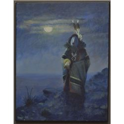 NAVAJO INDIAN PAINTING (BAHE)