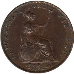 Great Britain 1841 1/2 Penny