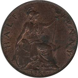 Great Britain 1898 1/2 Penny