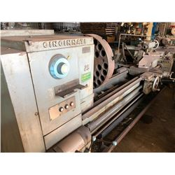 "26"" x 72"" Cincinnati Engine Lathe"