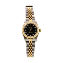 Rolex Ladies Oyster Perpetual Wristwatch