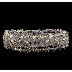 20.40 ctw Diamond Bracelet - 18KT White Gold