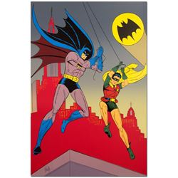 Batman and Robin by Bob Kane (1915-1998)