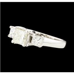 1.36 ctw Diamond Ring - 14KT White Gold